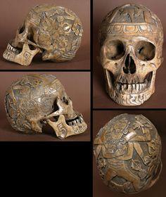 Dark Dissolution: Carved Skulls continued