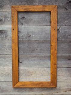 Altholz-Bilderrahmen/Spiegel von HolzwurmFredl auf Etsy
