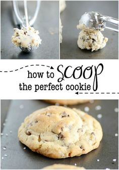 These chocolate chip cookies are the best I've tasted yet! Buttery crispy around the edges, but soft and chewy in the middle. Brownie Mix Cookies, No Bake Cookies, Cookies Et Biscuits, Pudding Cookies, Crinkle Cookies, Oatmeal Cookies, Cookie Bars, Cookie Dough, Cookie Recipes