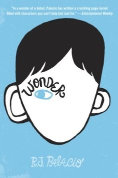 Wonder by R.J. Palacio Great Book during Personal Narrative Unit/Character Mapping for 5th Graders