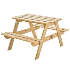 This generously sized TP Wooden Picnic Bench table offers plenty of room for up to 4 children to enjoy. Great for a picnics, art activities or simply to Wooden Picnic Tables, Kids Picnic Table, Garden Furniture, Outdoor Furniture, Wooden Slats, Outdoor Toys, Garden Toys, Traditional Looks, Furniture Collection