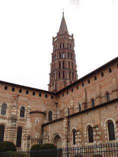abside de saint sernin a toulouse