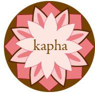 Kapha: energy of construction.  Steady & Nurturing.  Elements water (aap) + earth (prithvi)  Qualities wet, cold, heavy, oily, static  Season spring  Nature moon  Main Location stomach + chest