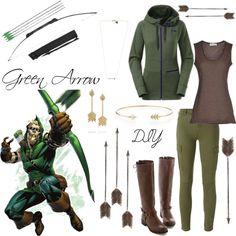 Green Arrow diy costume