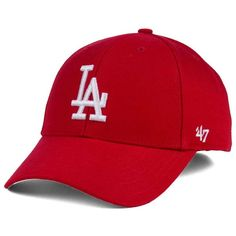 47 Brand Los Angeles Dodgers Mvp Cap ( 28) ❤ liked on Polyvore featuring  accessories 16070a5c99e6