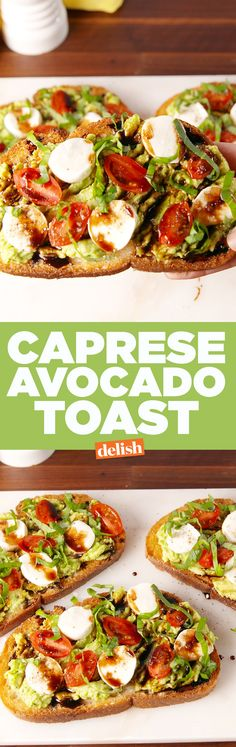 This is the hottest avocado toast we've ever seen. Get the recipe on Delish.com.