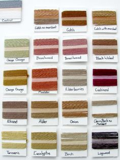 natural-dyes Color Wheel Dyed on Wool with Acid Dye One of the biggest problems with textiles is obviously the pollution that comes from the growing, weaving, and dying process associated with creating fabrics. Natural Dye Fabric, Natural Dyeing, Tinta Natural, Acid Dyes, Art Journal Techniques, How To Dye Fabric, Dyeing Fabric, Fabric Painting, Mori Style