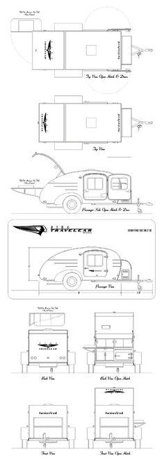 Teardrop schematics  sc 1 st  Pinterest : teardrop camper wiring diagram - yogabreezes.com