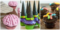 Whether creepy or cute, these festive cupcake ideas are all simple enough to DIY.