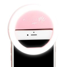 GlowMe LED Selfie Ring Light for Smartphones (in Black, Pink, and White)