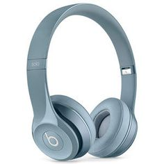 Beats By Dr Dre Beats Solo 2 Gloss Grey On Ear Headphones in Sound & Vision, Headphones Pink Headphones, Best Headphones, Wireless Headphones, Over Ear Headphones, Headphones Online, Studio Headphones, Music Headphones, Beats Pill, Beats By Dre