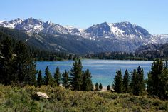 Beautiful June Lake, California, United States
