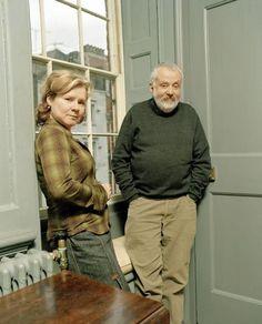 Imelda Staunton and Mike Leigh