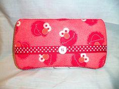 Custom Covered Baby Wipe Case Elmo Sesame Street by MimiDesigns1, $12.00