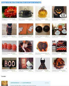 Orange is the New Black  #oitnb #etsy #etsytreasury #orange #black #junkyardblonde http://etsy.me/1xX0C6A