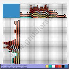 Griddlers Puzzle 183810 Fragglerock