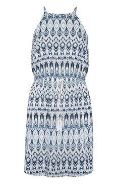 ec670f4032 Primark - White Patterned Apron Dress Primark, Vaza, Apron Dress, White  Patterns,