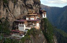Paro Taktsang Palphug monastery in Bhutan