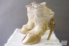 Zapato estilo pata de cabra!!