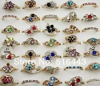 I think you'll like Charms New 10pcs Crystal Czech Rhinestones Fashion Women Girls Gold Plated Rings Wholesale Jewelry Lots A-029. Add it to your wishlist!  http://www.wish.com/c/5490e4f3b9b7e742bd4a3228