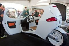 Maker Faire 2012: Amazing Electric Cars ,Carcycle