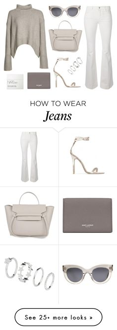 """""""Untitled #20869"""" by florencia95 on Polyvore featuring CÉLINE, STELLA McCARTNEY, Baldwin, Yves Saint Laurent and NARS Cosmetics"""