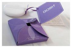 Gosh Cosmetics Packaging by Naomi Francois, via Behance