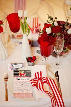 さくらんぼをモチーフにした披露宴なら♪春の結婚式に参考にしたいメニュー表一覧♪