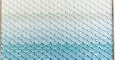 The fish scale motif, also known as mermaid tale, is a great art choice if you want to have the sea represented in a more abstract way. And ...