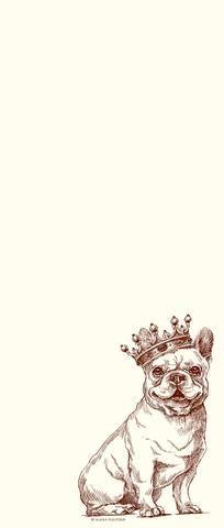 Royal French Bulldog Long Pad