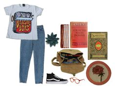 """""""again //"""" by elizabxthv ❤ liked on Polyvore featuring Vans, Spitfire, Maison d'usQ, Mason Pearson and Felt So Good"""