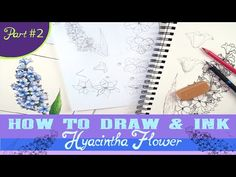 How to Draw Hyacinth Flower Pt. 2