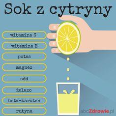 Sok z cytryny to źródło witamin, żelaza, potasu, sodu i rutyny - idealny sposób na spadek odporności i składnik zdrowej diety.  #cytryna #sok #cytrynowy #zdrowie #witaminy #healthy #drink #juice #lemon #abcZdrowie