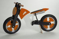 Kiddimoto: Wooden Balance Bikes with an Edge