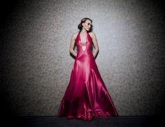Daalarna Evening Dress - Silver Collection