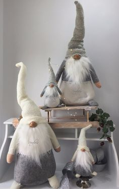 Handmade Swedish Tomte, Santa, Scandinavian Gnome Plush. Christmas decoration | eBay