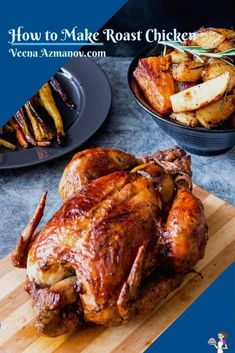 Roast chicken is perfect for Sunday or festive dinners when the whole family is around. This paprika roast chicken is juicy on the inside with a golden brown and crisp skin on the outside. Made with most ingredients you probably already have on hand this is how you make the perfect roast every single time. #roast #chicken #perfect #foolproofmethod #cooking #thanksgiving #christmas