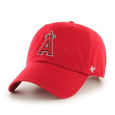 designer fashion f5b29 e0088 Los Angeles Angels Clean Up Home 47 Brand Adjustable Hat