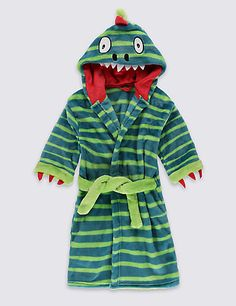 Dinosaur Dressing Gown (1-8 Years) | M&S