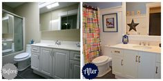 How to Update a Bathroom on a Reasonable Budget | The Happy Housie