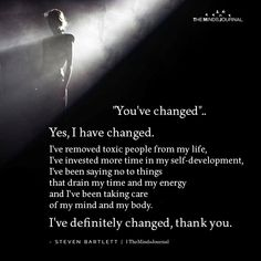 I've removed toxic people from my life, I've invested more time in my self-development, Sin Quotes, Words Quotes, Best Quotes, Sayings, Qoutes, Super Soul Sunday, Gandhi, Inspiring Quotes About Life, Inspirational Quotes