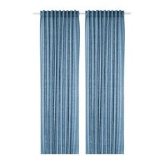 IKEA Curtains, 1 pair Blue: textiles-rugs / curtains-blinds The curtains lower the general light level and provide privacy by preventing people outside from seeing directly into the room. Ikea Curtains, Cool Curtains, Curtains Living, Custom Curtains, Blinds For Windows, Curtains With Blinds, Panel Curtains, Curtains Without Sewing, Cheap Blinds