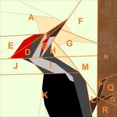 Dzięcioł / Woodpecker {Forest QAL}   Projektownia Jednoiglec