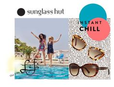 """""""Shades of You: Sunglass Hut Contest Entry"""" by freckled-gypsy on Polyvore featuring Miu Miu, Emporio Armani and shadesofyou"""