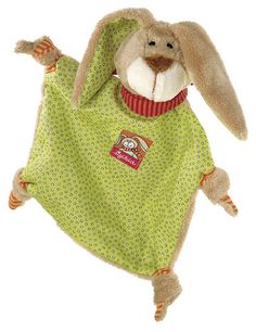 Sigikid Comforter Wombel Bombel £19.00  This soft bunny is a very special piece of cloth for the little ones to cuddle, hug and to comfort.