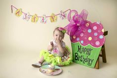 1st Birthday mini shoot with Chunky Monkey Photography!!
