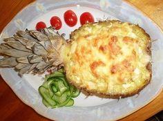 Запеченное в ананасе мясо