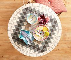 Stół z mozaiką 338867 w Tchibo