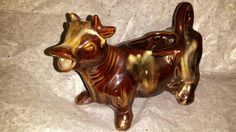 COW CREAMER Vintage BrownAlmost Bronze With by DWedgeCreations #COWCREAMER #CowCreamerVintage #Cow #BrownCow #CowBrownCeramicCreamer #DWedgeCreations #Etsy by DWedgeCreations http://etsy.me/2fazRfs via @Etsy