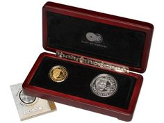 Mandela Red Ribbon Twin Set Coin Collecting, Red Ribbon, Gold Coins, Twin, Articles, Twins